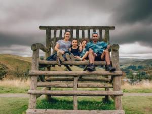 Running at Bwlch Nant yr Arian