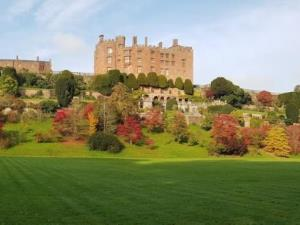 Powis Castle Gardens in the autumn