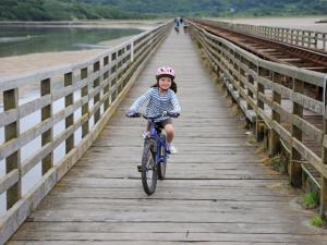 Cycling Mawddach Estuary