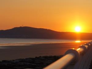 Sunset Aberavon Beach