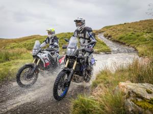 Yamaha Tenere Experience - River Crossing