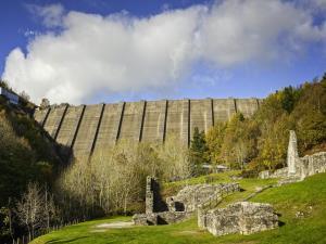 Clywedog Dam & Bryntail Lead Mines