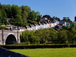 Llandeilo with oldest single span bridge in Wales