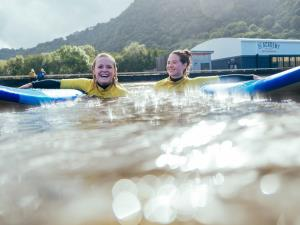 Surf Fun at Adventure Parc Snowdonia