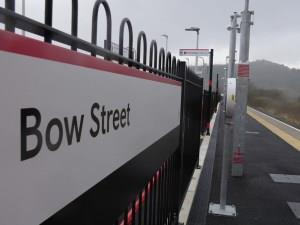 Bow Street Railway Station