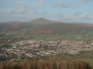 Sugar Loaf from the Little Skirrid