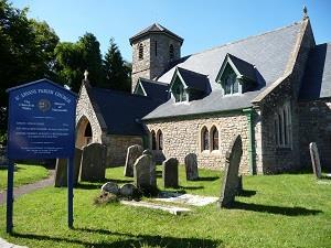 St. Arvan's Church (photo - Chris Brown)
