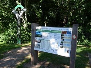 Wye Valley Walk path (photo - Chris Brown)