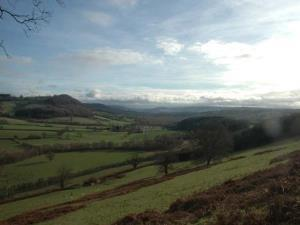 Views over Monnow Valley