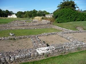 Roman remains, Caerwent (photo - Chris Brown)