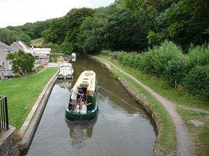 Canal at Govilon (photo - Chris Brown)