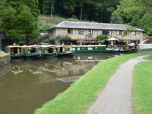 Wharf at Llanfoist (photo - Chris Brown)