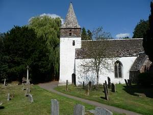 Dixton Church (photo - Chris Brown)