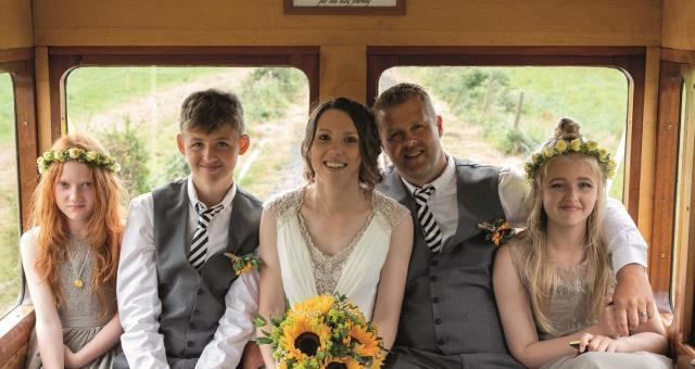 Rheidol Railway Wedding