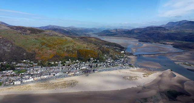 Abermaw / Barmouth from the air