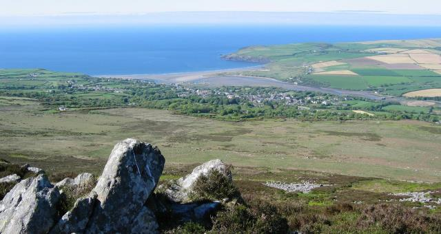 Newport Bay from Carn Ingli