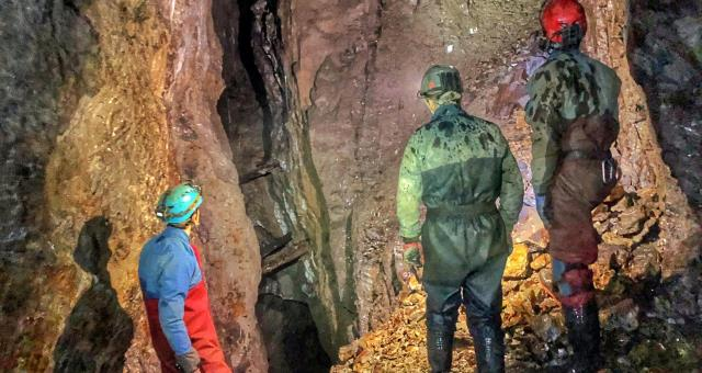 Mid Wales Mine Adventure