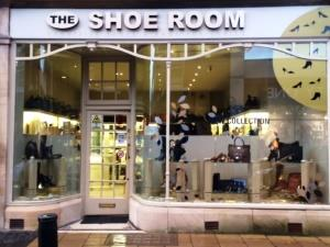 Outside The Shoe Room