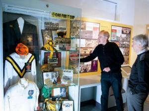 Community Cases at  Castleford Forum Museum