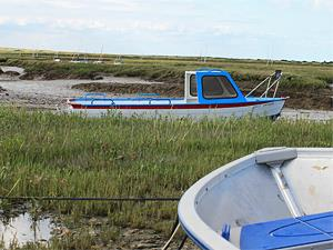 Sailing is very popular at Brancaster Staithe