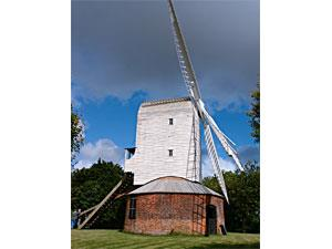 Thrigby Post Mill (courtesy of Jim Woodward-Nutt)