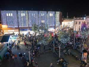 Christmas Lights Switch On