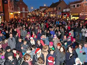 Gorleston Christmas Lights Switch On