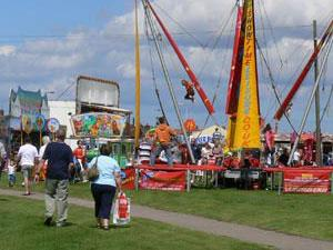 Fun Fair at Gorleston Clifftop Festival