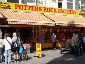 Potters Rock Factory