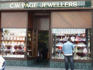 C W Page Jewellers