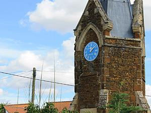 The village clock