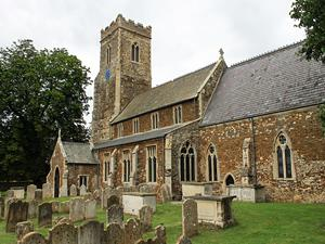 The Middleton parish church
