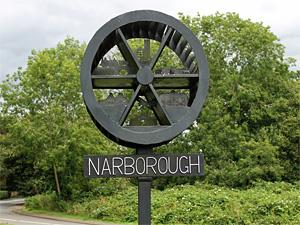 Narborough village sign