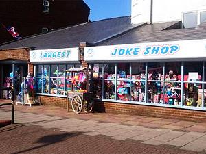 Britain's largest joke shop