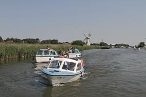Norfolk Broads Day Boat Hire