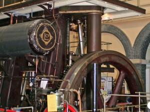 The Lilleshall Marshall steam engine