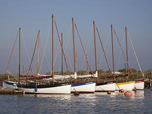 Boats at Morston Quay