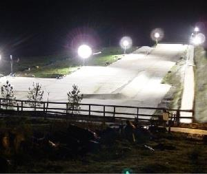 Knockhatch Ski Slope