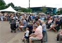 People enjoying Feast Hinckley