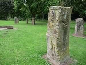 Standing Stones, Swan Meadow (photo - Chris Brown)