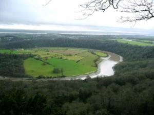 The River Wye and the Severn beyond