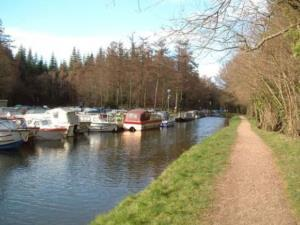 Monmouthshire and Brecon Canal at Goytre Wharf