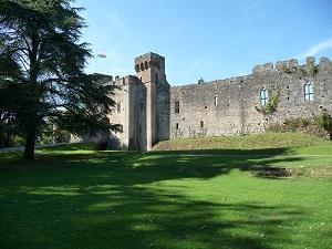Caldicot Castle  (photo - Chris Brown)
