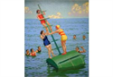 Southend-on-Sea: bathing buoy, by Charles Pears