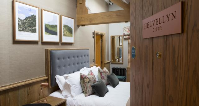 Helvellyn, one of our guest bedrooms