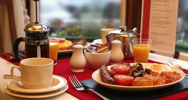 Glencoe Guest House breakfast