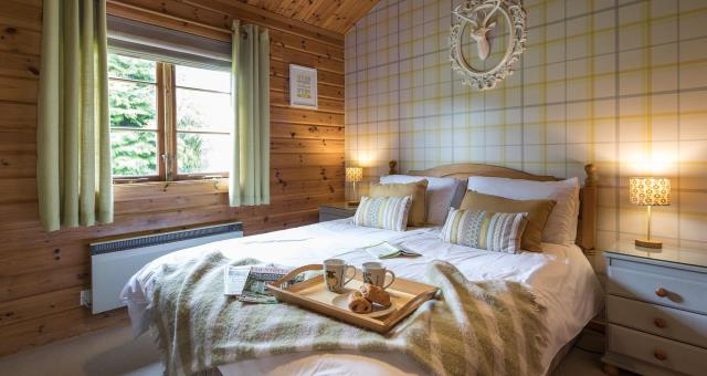 3 individually styled bedrooms for a restful sleep