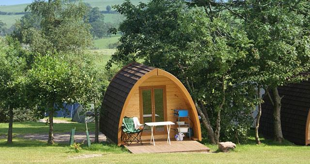 Quiet Site Camping Pods