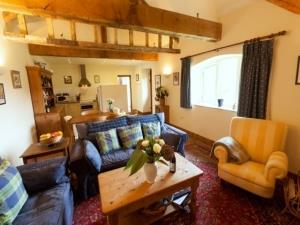 Lark Lodge sitting room
