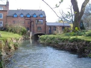 The Mill from the millstream